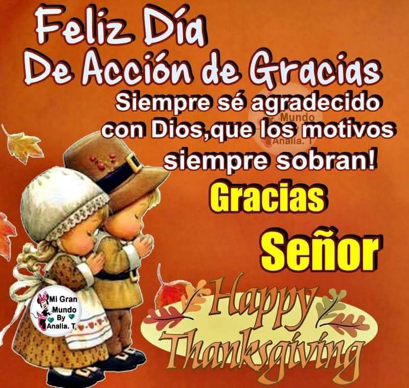 Feliz Dia De Accion De Gracia >> 13 Día de Acción de Gracias Imágenes, Fotos y Gifs para Compartir - Imágenes Cool